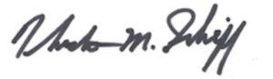 Theodore M Schiff Signature